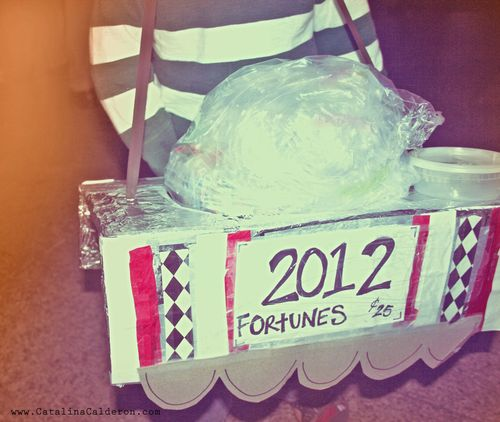 Easy fortune teller DIY costume 5