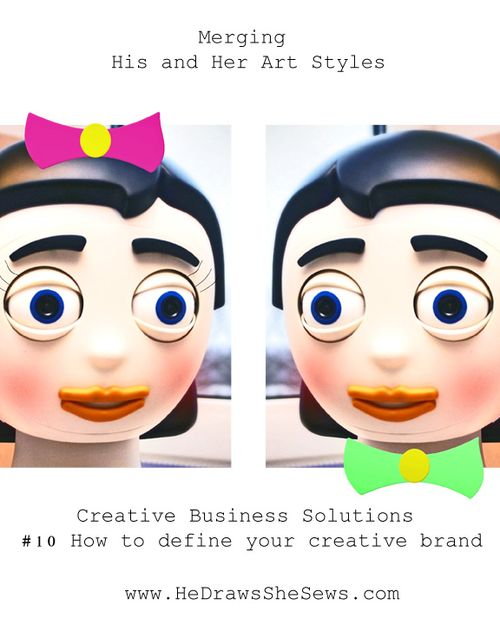 Merging His and her Art Styles how to define your creative  brand